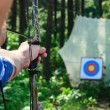 Bow shooting — Stock Photo #13739822