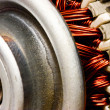Electric motor rotor — Stock Photo
