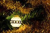 Vintage christmas light — Stock Photo