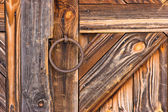 Detail of rustic door — Stockfoto