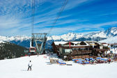 Ski resort — Foto de Stock
