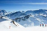 Pista de esqui — Fotografia Stock