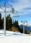 Skilift — Foto Stock