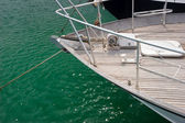 Sailing boat bow — Stockfoto