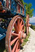 Wagon detail — Stock Photo