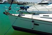 Yachts in marina — Stock Photo