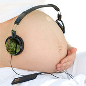 Listening to a music — Stock Photo