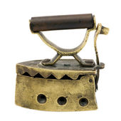Vintage Miniature Charcoal Iron — Stock Photo