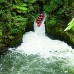 White water rafting — Stock Photo #13741190