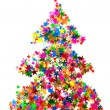 Christmas tree — Stock Photo #13740084