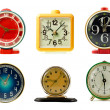 Clocks collection — Foto Stock