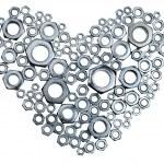 Metal heart — Stock Photo #13740189