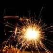 New Year sparkler - Foto de Stock