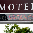 Stock Photo: Motel Vacancy Sign