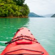 Kayaking in New Zealand — Stock Photo