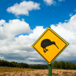 Kiwi sign - Stock Photo