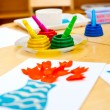 Childrens creativity concept — Stock Photo