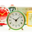 Stock Photo: Alarm clock set