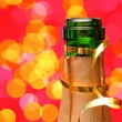 New Years's Champagne - Stock Photo