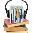 Audiobook concept — Stock Photo