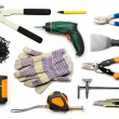 Drywall tools isolated — Stock Photo #13741753