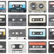 Audio tapes — Foto de Stock