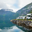Camping by fjord — Stock Photo #13741923