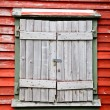 Shuttered Window — Stock Photo