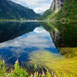 Granvinsvatnet lake — Stock Photo