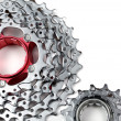 Chainrings set — Stock Photo
