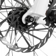 Bicycle disk brake - Stock Photo