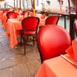 Stock Photo: Street cafe in Venice