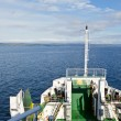 Ferry on the route — Stock Photo
