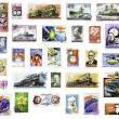 USSR Postage Stamps - Stock Photo