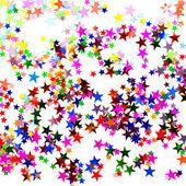 Star shaped confetti — Стоковое фото