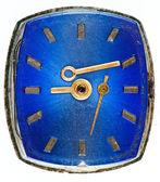 Starý hodinový ciferník — Stock fotografie