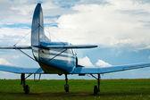 Sport airplane — Stock Photo