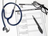 Formulaire de prescription vétérinaire — Photo
