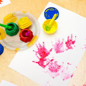 Fingerpaint — Stock Photo