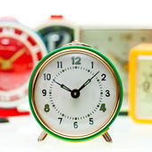 Alarm clock set — Stock Photo