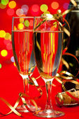 New Years Champagne — Foto Stock