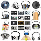 Audio gear set — Stock Photo