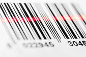 Barcode scanning — Stock Photo