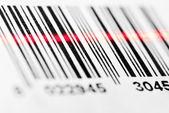 Barcode scanning — Stock Photo