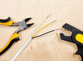 Wire snipping tools — Stock Photo