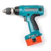 Cordless drill — Stock Photo
