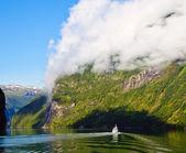 Geirangerfjord — Stock Photo