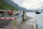Bordereau de ferry — Photo