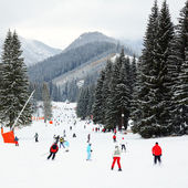 Ski resort — Stock Photo