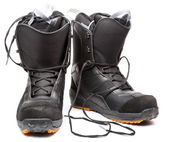 Snowboard shoes — Stockfoto